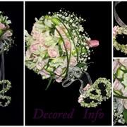 Составление свадебных букетов фото