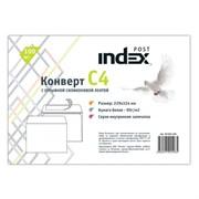 Конверт INDEX POST С4 (229х324), белый, 90гр/м2, 100шт/уп фото