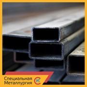 Труба стальная прямоугольная 80х40х4 мм ст. 10 ГОСТ 30245 фото