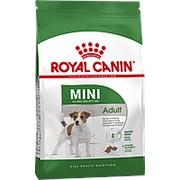 Royal Canin 2кг Mini Adult Сухой для собак мелких пород с 10 месяцев до 8 лет + 2*85г Влажный корм фото