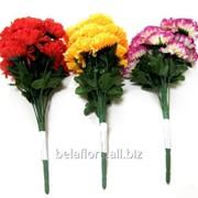 """Цветок искусственный """"Гвоздика букет"""" КР60013 фото"""