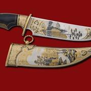 Нож Уральские просторы 385*212*45*5 фото