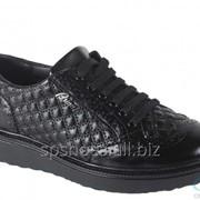 Туфли мужские 161-028, черный фото