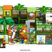 Лабиринт детский игровой 50 м2 фото