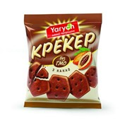 "Крекер ""С какао ""Yarych"". Вес 180 г. Срок хранения: 7 мес. фото"