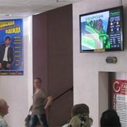 Реклама на видео мониторах фото
