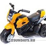 Детский мотоцикл на аккумуляторе Minimoto CH8819 оранжевый фото