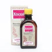 Масло льняное пищевое нераф. Женский эликсир 200мл фото