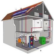 Тепловые аккумуляторы АКТ предназначены для эффективного использования низкопонетнциальных источников тепловой энергии, примером которой являются солнечные гелиосистемы и тепловые насосы. фото
