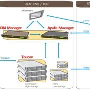 IP видео-сервер для сетей IPTV Toucan 100 фото
