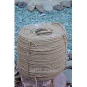 Шпагат джутовой фасованный 200, 400, 600 грамм, 1 кг. фото
