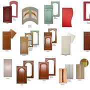 Фасады (дверки) мебели, МДФ пленочный под заказ. Оптовая продажа фото