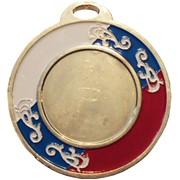 Медаль золотая RFD69 фото