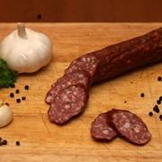 Копченая колбаса из баранины фото