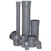 Монтаж систем канализации фото