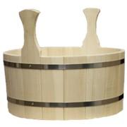 Шайка для бани деревянная, Везувий фото
