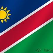 Флаг национальный Намибия фото