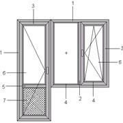 Балконные блоки фото