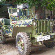 Ретро Willys MB фото