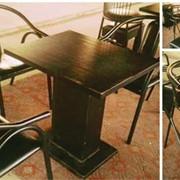 Столы, стулья для кафе б.у. 60 посадочных мест. фото
