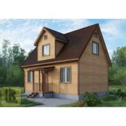 Дом каркасно-щитовой Проект №35 (7х9) фото
