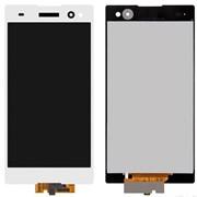 Дисплей для Sony D2533/D2502 (C3/C3 Dual) в сборе с тачскрином (белый) фото