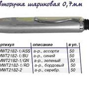 Ручка шариковая, мини корпус, ассорти C6122 2182-1/ASS фото