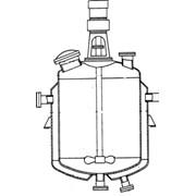 Реакторы цельносварные с пропеллерными или турбинными мешалками и нижними спусками продукта фото