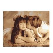 Рисование по номерам Нежный поцелуй kidMG1057 фото