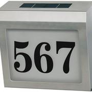 Солнечный светильник с подсветкой номера дома SH 4000 фото