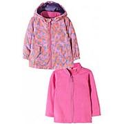 Куртка двусторонняя для девочки фото