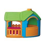 """Детский пластиковый домик """"Вилла с пристройкой"""" Marian Plast 662 фото"""
