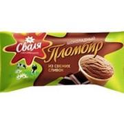 Пломбир СВАЛЯ шоколадный 14%, 61г фото