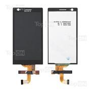 Матрица и тачскрин (сенсорное стекло) в сборе для смартфона Sony Xperia P LT22i фото