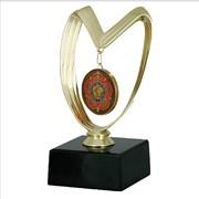Медали спортивные, F4190B Медаль на подставке, кубки, статуэтки, дипломы, спортивные награды фото