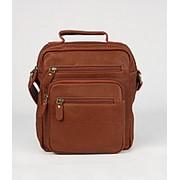 """Кожаная сумка """"Гектор"""" (коричневая) фото"""