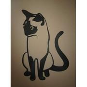 Элемент интерьера Сиамский кот фото