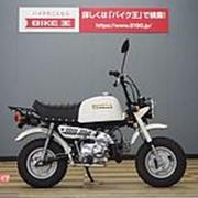 Мопед мокик Honda Monkey Gorilla рама AB27 гв 2001 Minibike задний багажник пробег 85 км белый фото