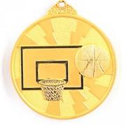 Медаль Баскетбол золото фото