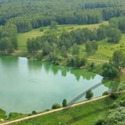 Участки в Чеховском р-не на берегу Озера фото