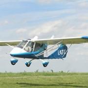 Самолет Lilienthal X-32-912 Bekas UT (Бекас) учебно-тренеровочный Приборы контроля работы двигателя: указатель температуры охлаждающей жидкости, тахометр, топливомер, пр-во Авиационная фирма Лилиенталь (Украина) фото