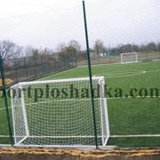 Строительство футбольных полей, строительство мини футбольного поля, строительство искусственных футбольных полей, укладка синтетического покрытия. фото