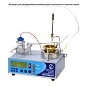 Аппарат для определения температуры вспышки в открытом тигле фото