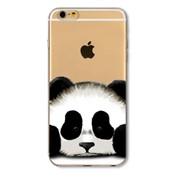 Силиконовый чехол для iPhone Панда фото