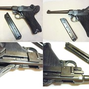 "ММГ пистолета Парабеллум Люгер 4"" 30 см фото"