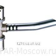 Пресс-тройник 14х2 с хромированной трубой, L = 25см, D 15мм для подключения к радиатору, артикул 5921160125 фото