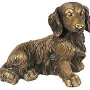 Скульптура Такса / Собака 36х28х22см. арт.МК1071 фото