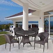 Комплект плетеной мебели T220CBT/Y290B-W52 Brown 4Pcs фото