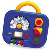 Игрушки детские. Развивающий центр Малыш фотография