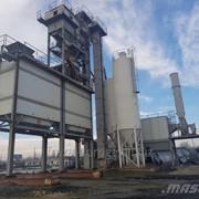 Стационарный асфальтобетонный завод Ammann Global 160 фото